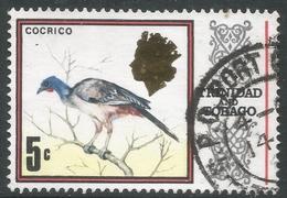 Trinidad & Tobago. 1969 Definitives. 5c Used. SG 341a - Trinidad & Tobago (1962-...)