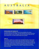 AUSTRALIA  Panorami Serie Complet   Nuovo ** MNH In Folder Bellissimo - Neufs
