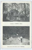 """OHAIN Le Château """" L'espoir """"  Une Partie De Volley-ball Au Camp - Lasne"""