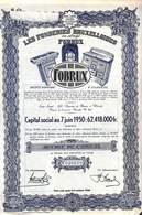 Titre Les Fonderies Bruxelloises Fobrux (Cuisinières, Poêle) Vilvorde 1944 - Actions & Titres