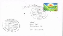30049. Carta IDAR-OBERSTEIN (Alemania Federal) 1981. Drucksache, Impresos - [7] República Federal