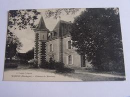 Manzac - Chateau De Monciaux - Autres Communes