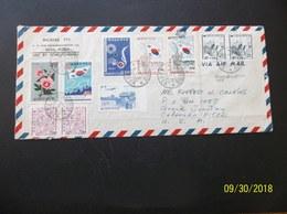 Korea, South, R.O.K.: 1965 Air Cover To USA (#TH10) - Corea Del Sur
