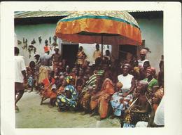 Villagers Enjoying Fetish Dance - Ghana - Gold Coast