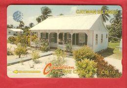 CAYMAN ISLANDS Magnetic GPT Phonecard 8CCI - Cayman Islands