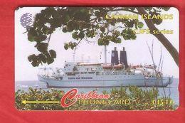 CAYMAN ISLANDS Magnetic GPT Phonecard 131CCIA - Cayman Islands