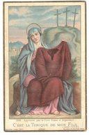 IMAGE PIEUSE RELIGIEUSE HOLY CARD SANTINI HEILIG PRENTJE Bouasse 1084 C'est La Tunique De Mon Fils Curé Doyen ARGENTEUIL - Imágenes Religiosas