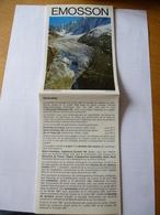 SUISSE (Canton Du Valais) : MARTIGNY Barrage D'EMOSSON - Centrale CHATELARD-VALLORCINE - Brochure Technique. - Tourism Brochures