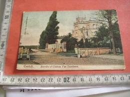 Chateau VAN ISSENHOVE 1909 Aan De  Overweg - Passage De  Train -  Edit. Zusters Soeurs Van Den Bosch Contich Kontich - Kontich