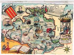 CARTE GEOGRAPHIQUE  09 L ARIEGE - Cartes Géographiques