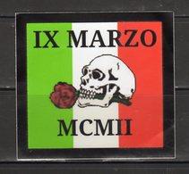 Stiker-Adesivo - Ultras Vicenza - IX MARZO  MCMII - - Autocollants