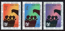 United Nations 1961 Set Of Stamps To Celebrate 15th Anniversary Of UNICEF. - New York – UN Headquarters