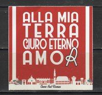 Stiker-Adesivo - Ultras Vicenza - Alla Mia Terra Giuro Eterno Amore - - Adesivi