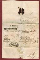 Aangetekend Brief  (latijn) Uit Budthanin 1835 Naar Pastoor Vecoven Van Boorsem - Belgium