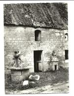 LANVAUDAN - Maison Bretonne Et Puits - COMBIER éditeur N°2633 (années 50) - Altri Comuni