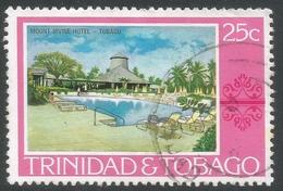 Trinidad & Tobago. 1976 Paintings, Hotels And Orchids. 25c Used. SG 486 - Trinidad & Tobago (1962-...)