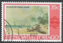 Trinidad & Tobago. 1976 Paintings, Hotels And Orchids. 35c Used. SG 487 - Trinidad & Tobago (1962-...)