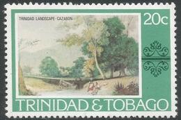 Trinidad & Tobago. 1976 Paintings, Hotels And Orchids. 20c MH. SG 485 - Trinidad & Tobago (1962-...)