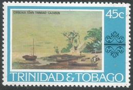 Trinidad & Tobago. 1976 Paintings, Hotels And Orchids. 45c MH. SG 490 - Trinidad & Tobago (1962-...)
