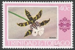 Trinidad & Tobago. 1976 Paintings, Hotels And Orchids. 40c MH. SG 489 - Trinidad & Tobago (1962-...)