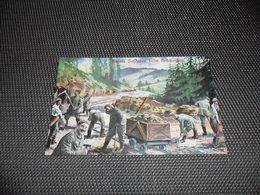 Guerre ( 83 )  Oorlog 1914 - 1918 Armée Leger Duitse Soldaten Soldat Soldaten -  Brückenbau - Guerra 1914-18