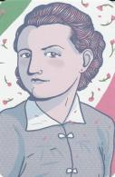 Postcard - Incredible Women In History - Claudi Ruggerini - Partisan, Born 1922 - 2016, Italy - New - Cartes Postales