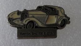 Pin's Mercedes Benz 500 R 1936 . Base Argentée - Mercedes