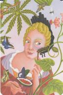 Postcard - Incredible Women In History - Maria Sibylla Merian - Naturalist - Born 1647 - 1717, Germany  - New - Postcards