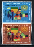United Nations 1962 Set Of Stamps To Celebrate UN Housing Facilities. - New York – UN Headquarters
