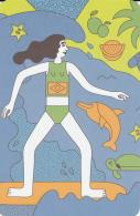 Postcard - Incredible Women In History - Maya Gabeira - Surfer Born 1987 In Brazil - New - Postcards