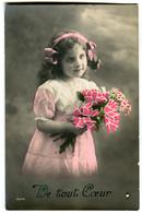 CPA  ENFANT Belle Coiffure - Portraits