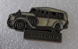 Pin's Mercedes Benz 1928 Break . Base Argentée - Mercedes