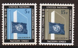 United Nations 1962 Set Of Stamps To Celebrate UN Memorial Issue. - New York – UN Headquarters