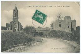Betaille L'eglise Et Le Chateau - Frankrijk
