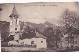 Cpa -74-bonneville-Pas Sur Delc.-et Le Mole-clocher-photo Rusché - Bonneville