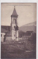 Cpa -74-bonneville-Pas Sur Delc.-et Le Bargy-clocher-photo Rusché - Bonneville