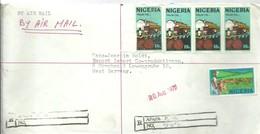 LETTER REGISTERED   APAPA - Nigeria (1961-...)