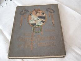 Les Grands MAITRES De L ,art De La  Musique De 1907 - Musik & Instrumente