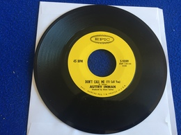"""45 RPM EPIC Record: Autry Inma """"Ballad Of Two Brothers"""" & """"Don't Call Me"""" - Country & Folk"""