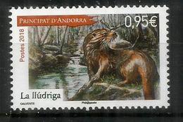 ANDORRA. La Loutre Des Pyrénées, Année 2018, Neuf ** - Stamps