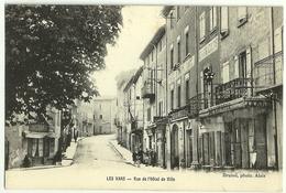 Les VANS Rue De L'Hôtel De Ville. Brunel - Les Vans
