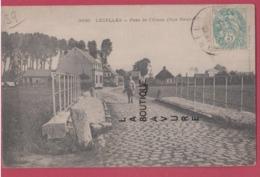 62 - LECELLES----Pont De L'Elnon ( Rue Neuve ) Animé - France