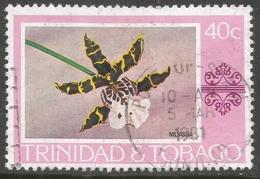 Trinidad & Tobago. 1976 Paintings, Hotels And Orchids. 40c Used. SG 489 - Trinidad & Tobago (1962-...)