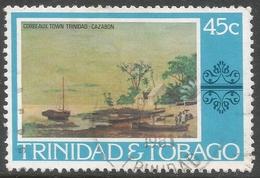 Trinidad & Tobago. 1976 Paintings, Hotels And Orchids. 45c Used. SG 490 - Trinidad & Tobago (1962-...)