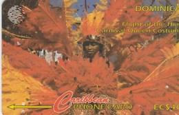 Dominica - Flight Of The Hiali - Carnival Queen Costume - 11CDMC - Dominica