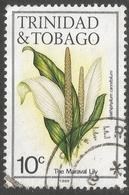 Trinidad & Tobago. 1983 Flowers. 10c Used. SG 687 - Trinidad & Tobago (1962-...)