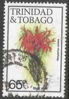 Trinidad & Tobago. 1983 Flowers. 65c Used. SG 643A - Trinidad & Tobago (1962-...)