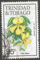 Trinidad & Tobago. 1983 Flowers. 95c Used. SG 695 - Trinidad & Tobago (1962-...)