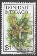 Trinidad & Tobago. 1983 Flowers. $1 Used. SG 696 - Trinidad & Tobago (1962-...)