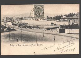Liège - La Meuse Au Petit Paradis - Dos Simple - 1904 - Liege